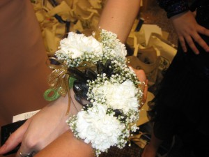 ...who got us these super-cute and totally awesome corsages!