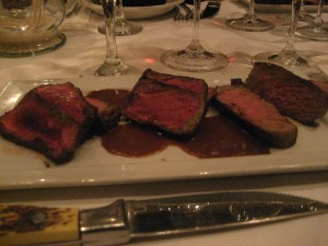 Steak at Morels