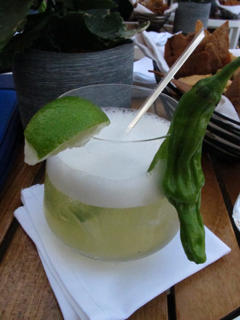 Speckled Jalapeno Margarita