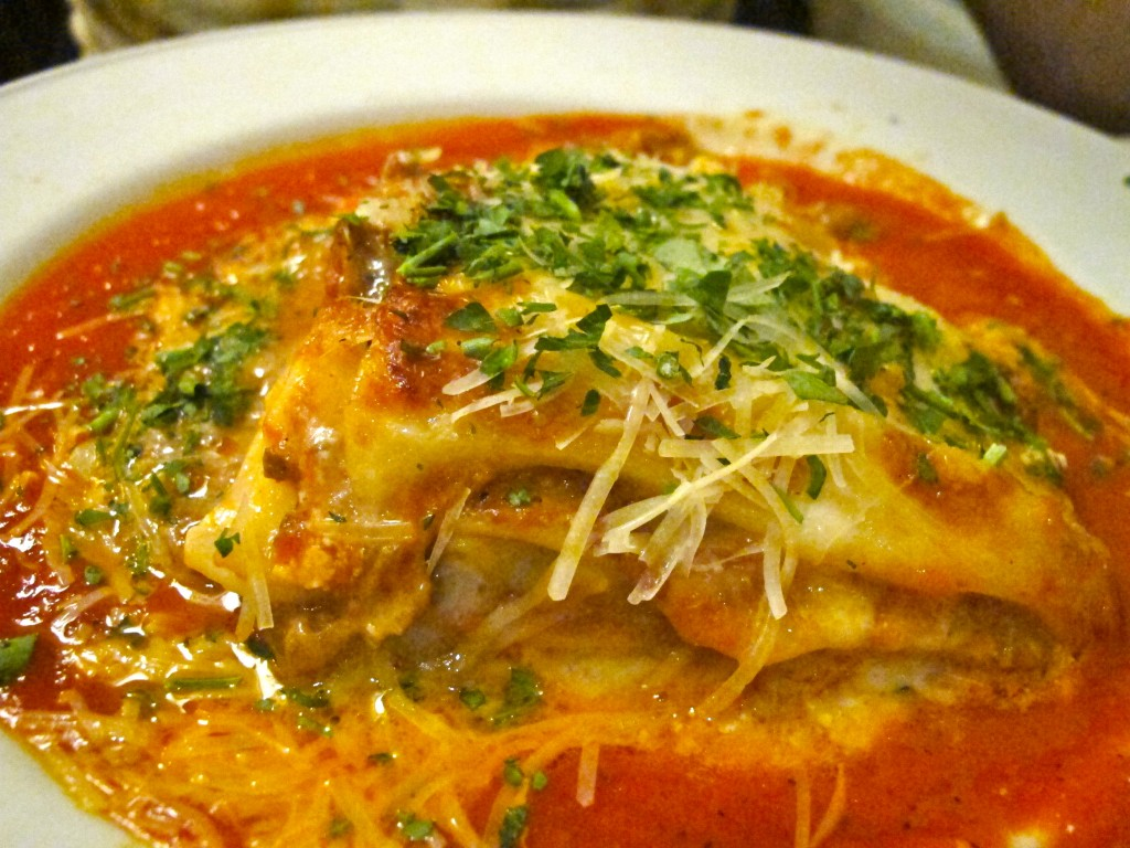 Lasagna at Piatti