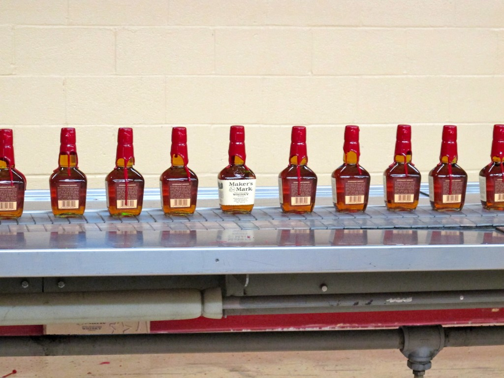 Maker's Mark on the line