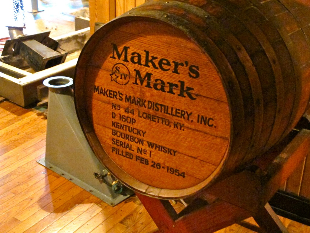 Maker's Mark barrel