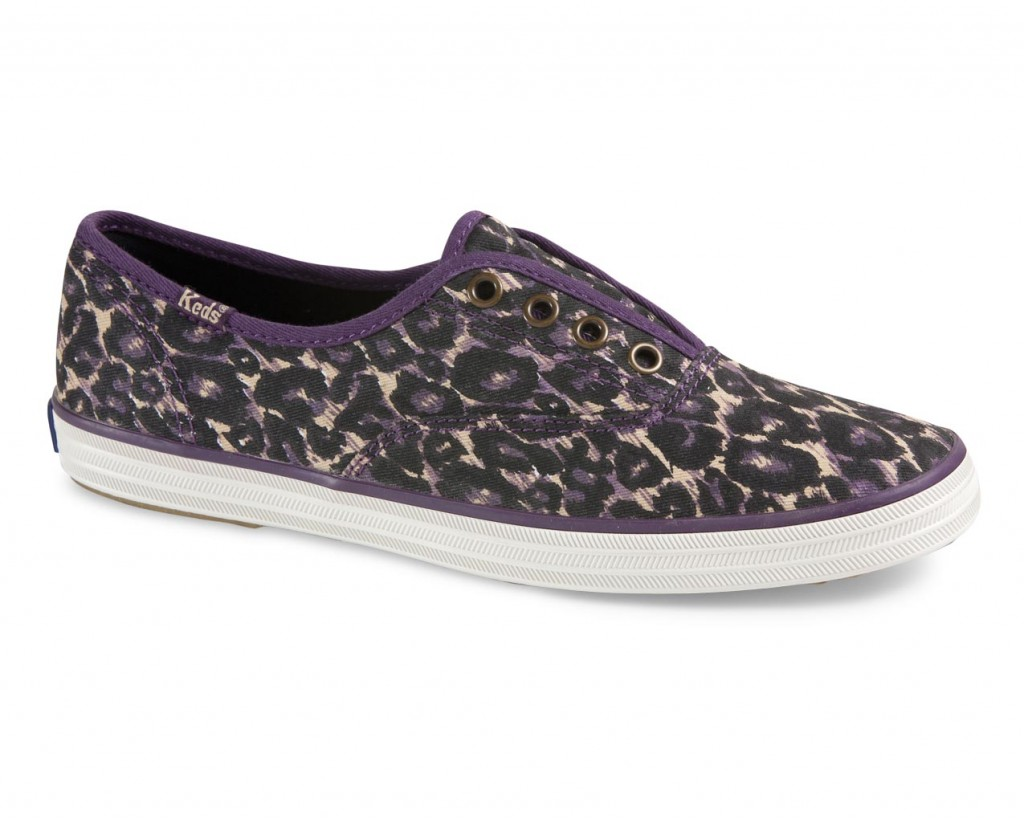 Purple Leopard Keds by American Rag