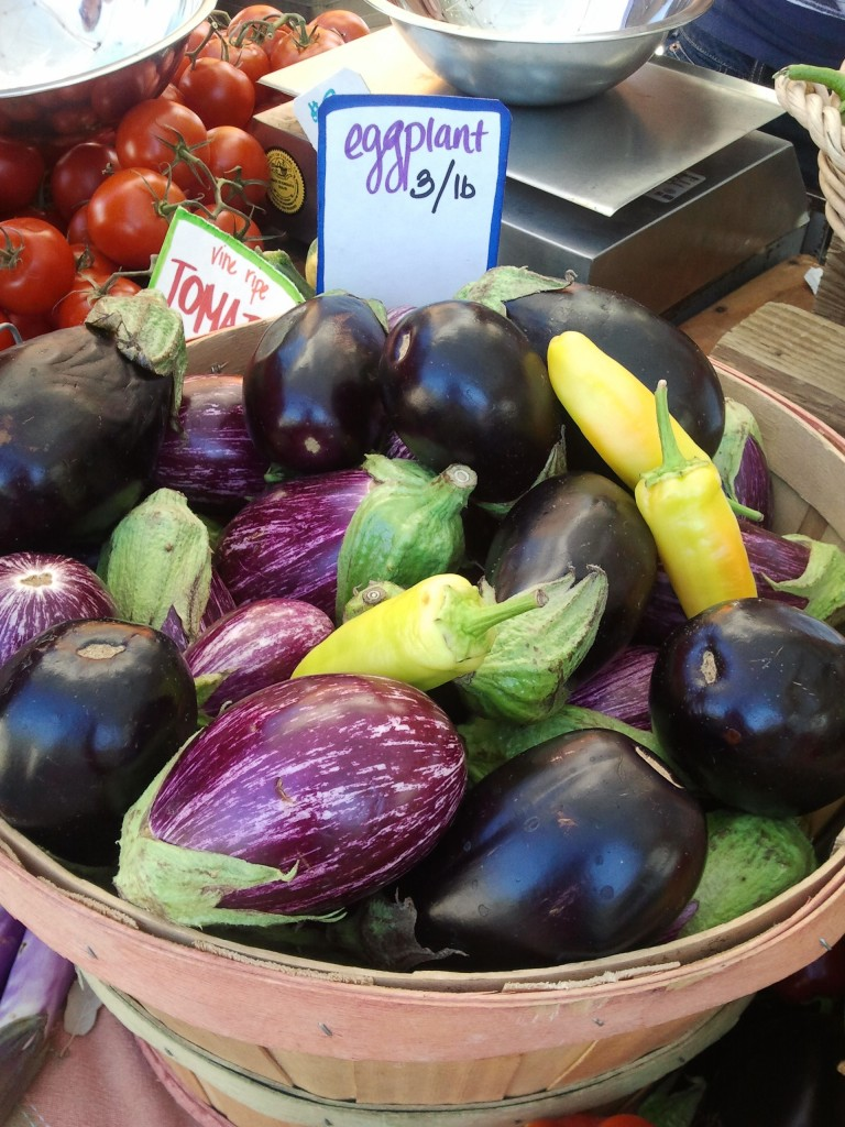 Eggplant at Ojai Certified Farmers Market