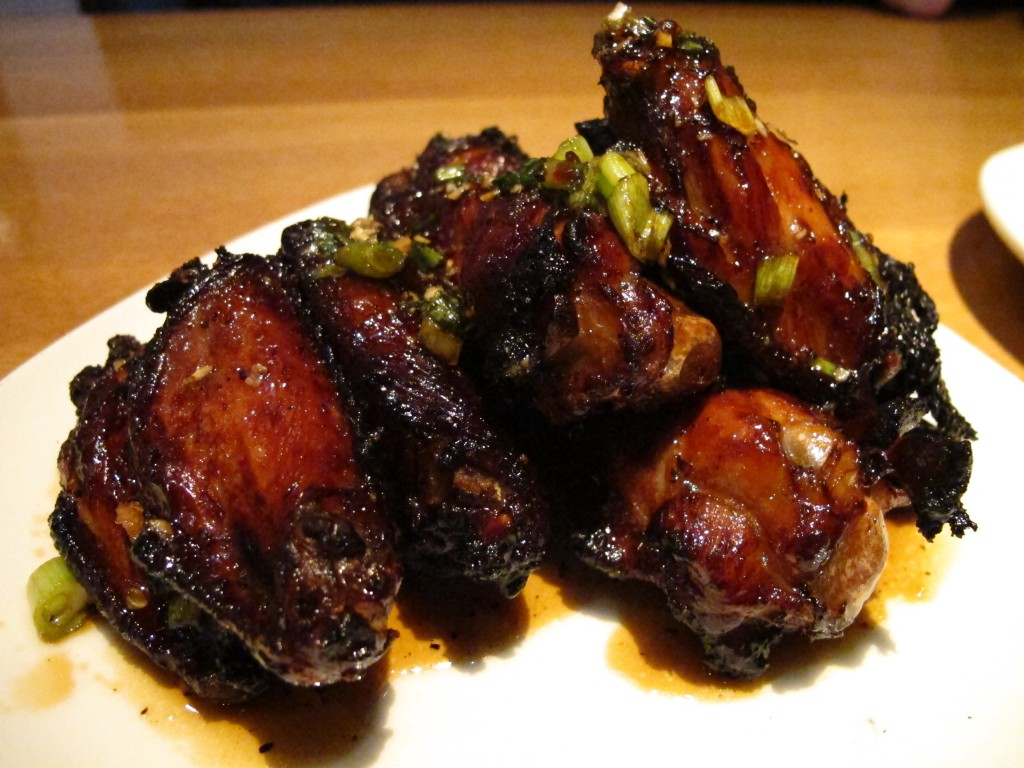 Black Pepper Wings at J. Nichols