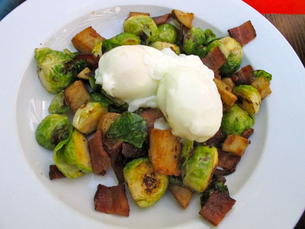 Brussels & Bacon Hash
