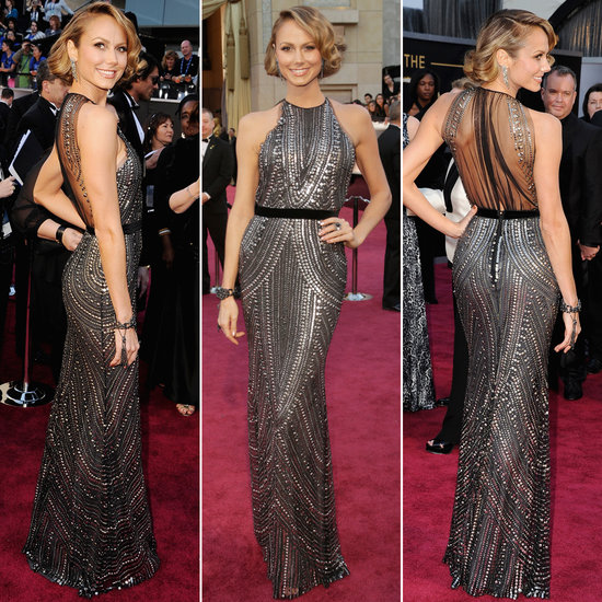 Stacey Keibler in Naeem Khan at the 85th Annual Academy Awards. Photo from FabSugar.