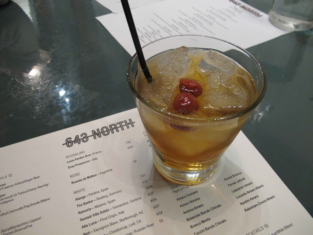 Don't Drink This cocktail at 643 North