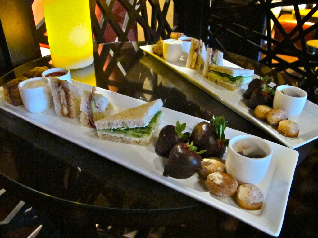 Afternoon tea snacks