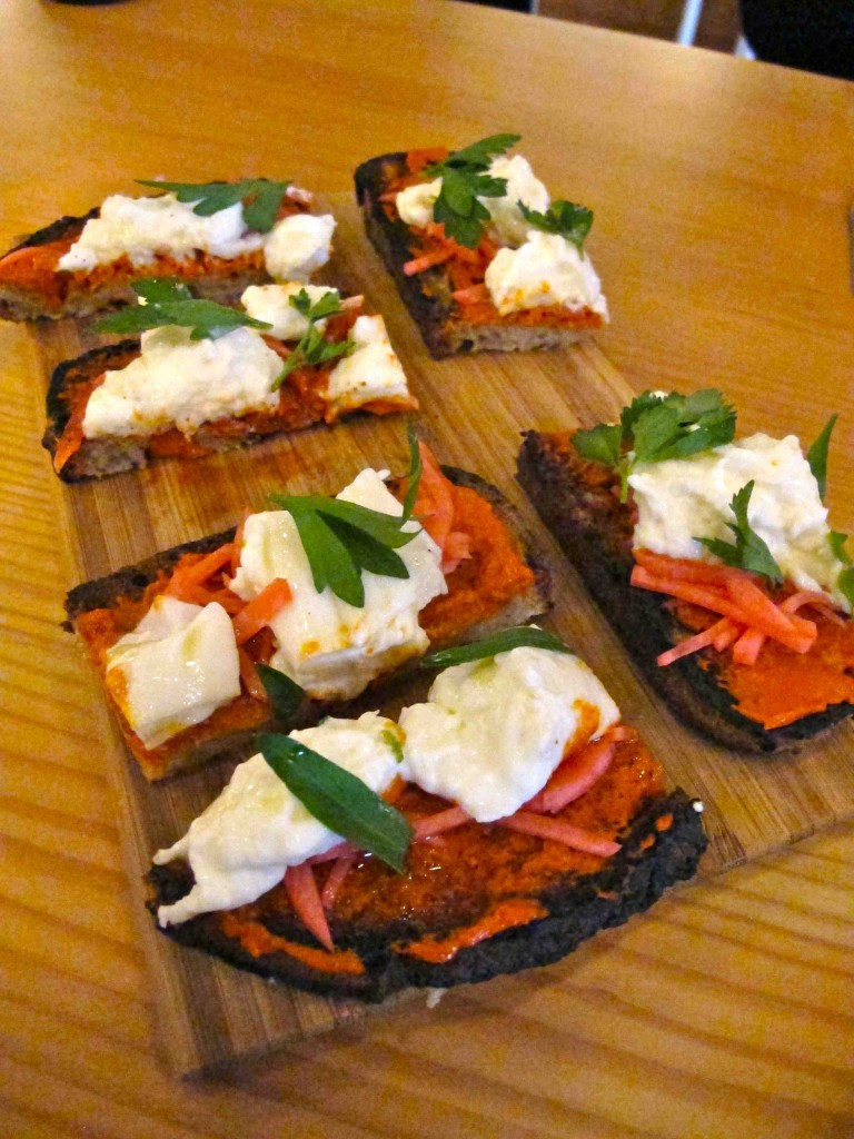 Burrata toast