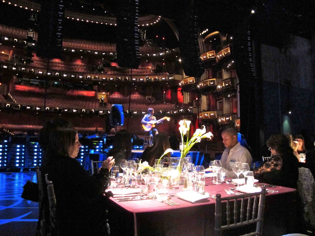 Dinner on the Stage