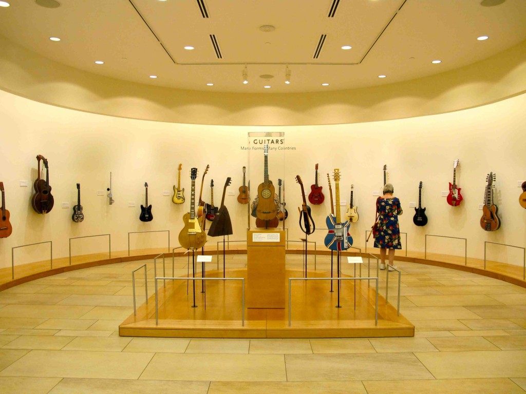 Guitar exhibit