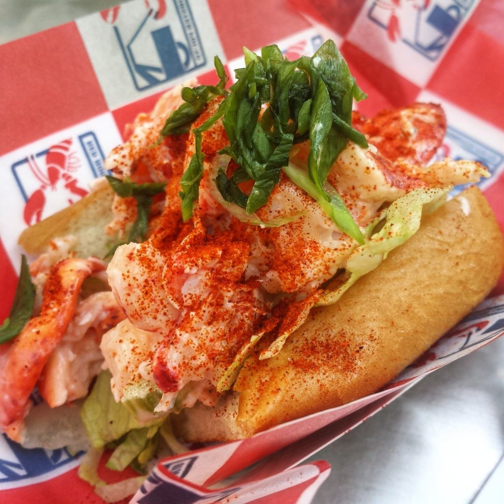 Red Hook Lobster Pound's lobster roll