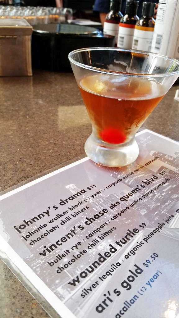 "Johnny's Drama, an ""Entourage""-themed cocktail"