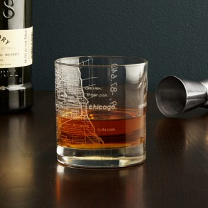UncommonGoods gifts City map glass