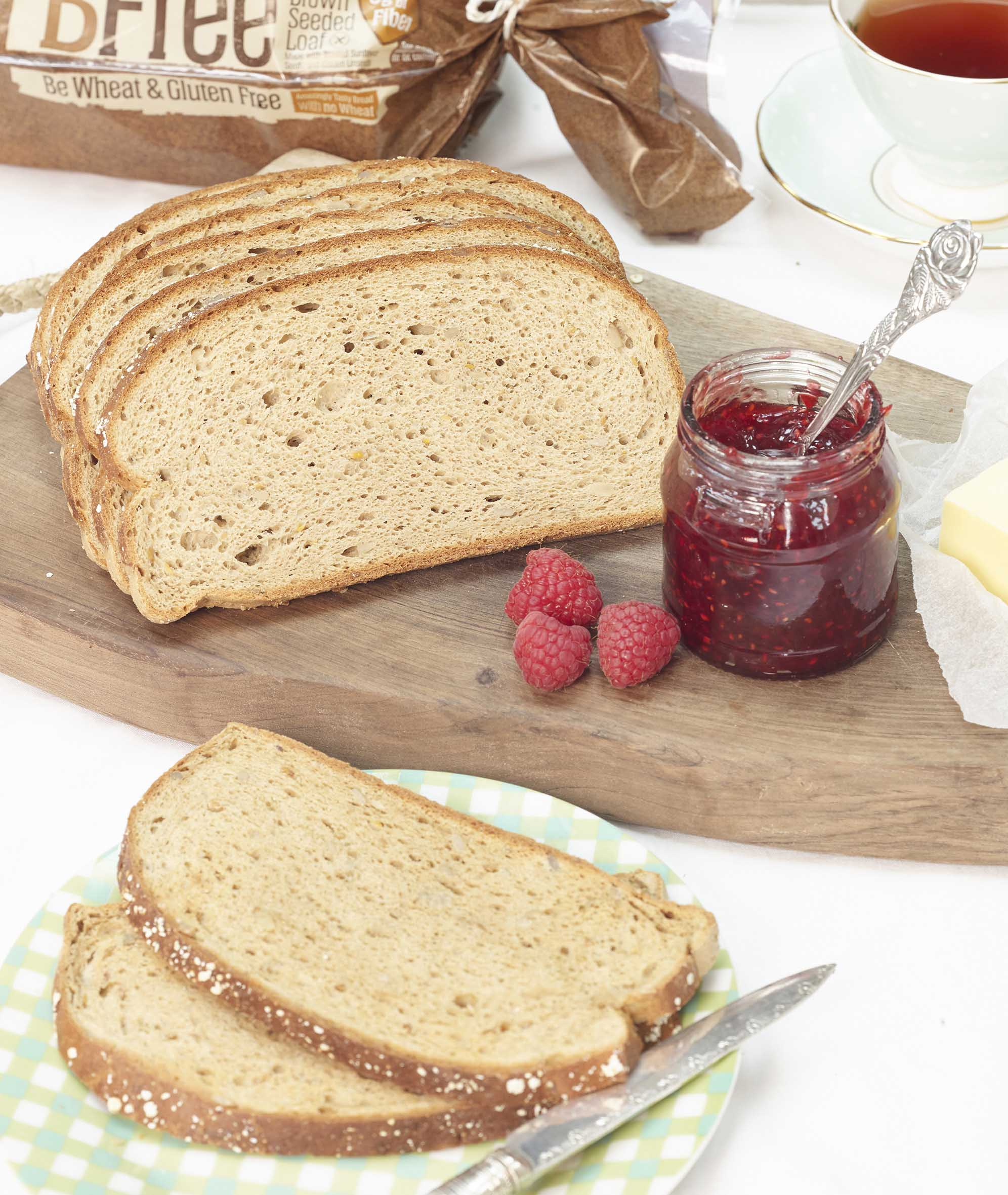 BFree gluten-free bread Brown Seeded Sandwich Loaf