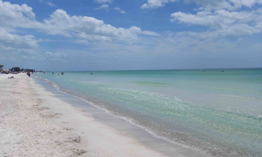 Bradenton Beach on Anna Maria Island
