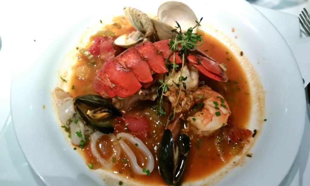 Bouillabaisse at Beach Bistro
